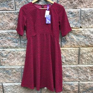 0ad0a32c9b868 NWT Séraphine Midi Length Dotted Maternity Dress
